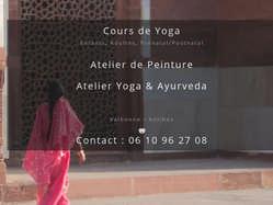 Cours de yoga à Valbonne